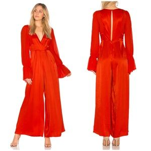 NEW Free People Not Your Baby Jumpsuit in Red
